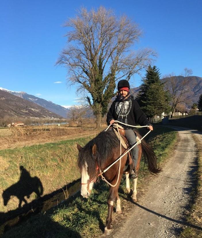 Equitazione terapeutica e pedagogica - rieducazione equestre - gudo